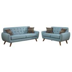 Bộ 2 sofa băng Klosso KCB001-XA (Xanh)