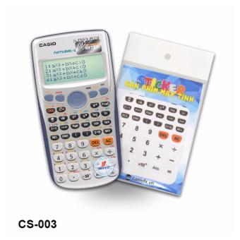 Bộ 2 stiker trang trí bàn phím máy tính (CS003)