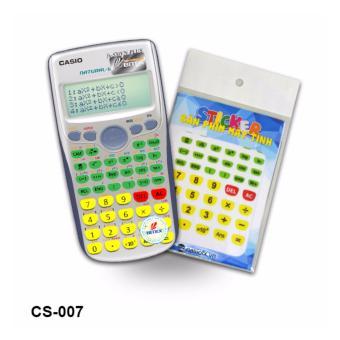 Bộ 2 stiker trang trí bàn phím máy tính (CS007)