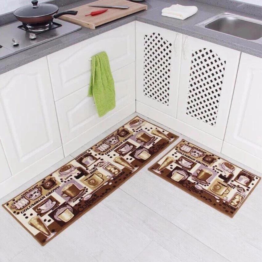 Bộ 2 tấm thảm nhà bếp cao cấp