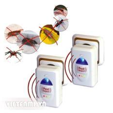 Bộ 2 thiết bị đuổi muỗi, côn trùng thông minh Pest Reject