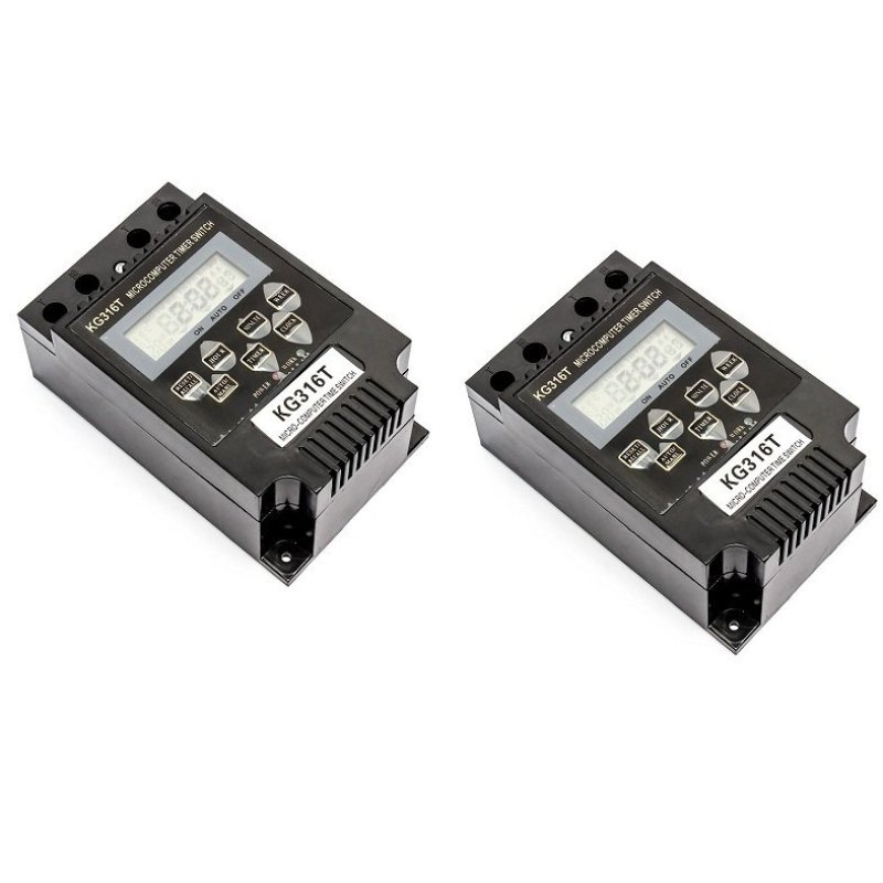 Bảng giá Mua Bộ 2 thiết bị hẹn giờ tắt mở tự động Smart Sensor KG316T (Đen)