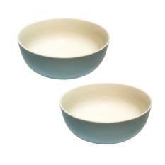 Bộ 2 tô canh sứ Pastel Dong Hwa (Xanh biển)