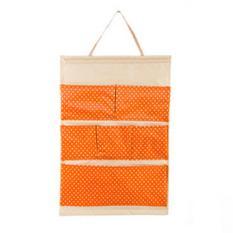 Bộ 2 túi vải treo 6 ngăn Flancoo 3055 (Cam)