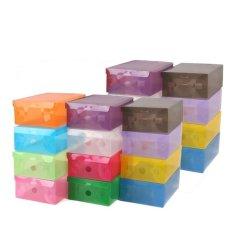 Bộ 20 hộp đựng giày trong suốt Huy Linh