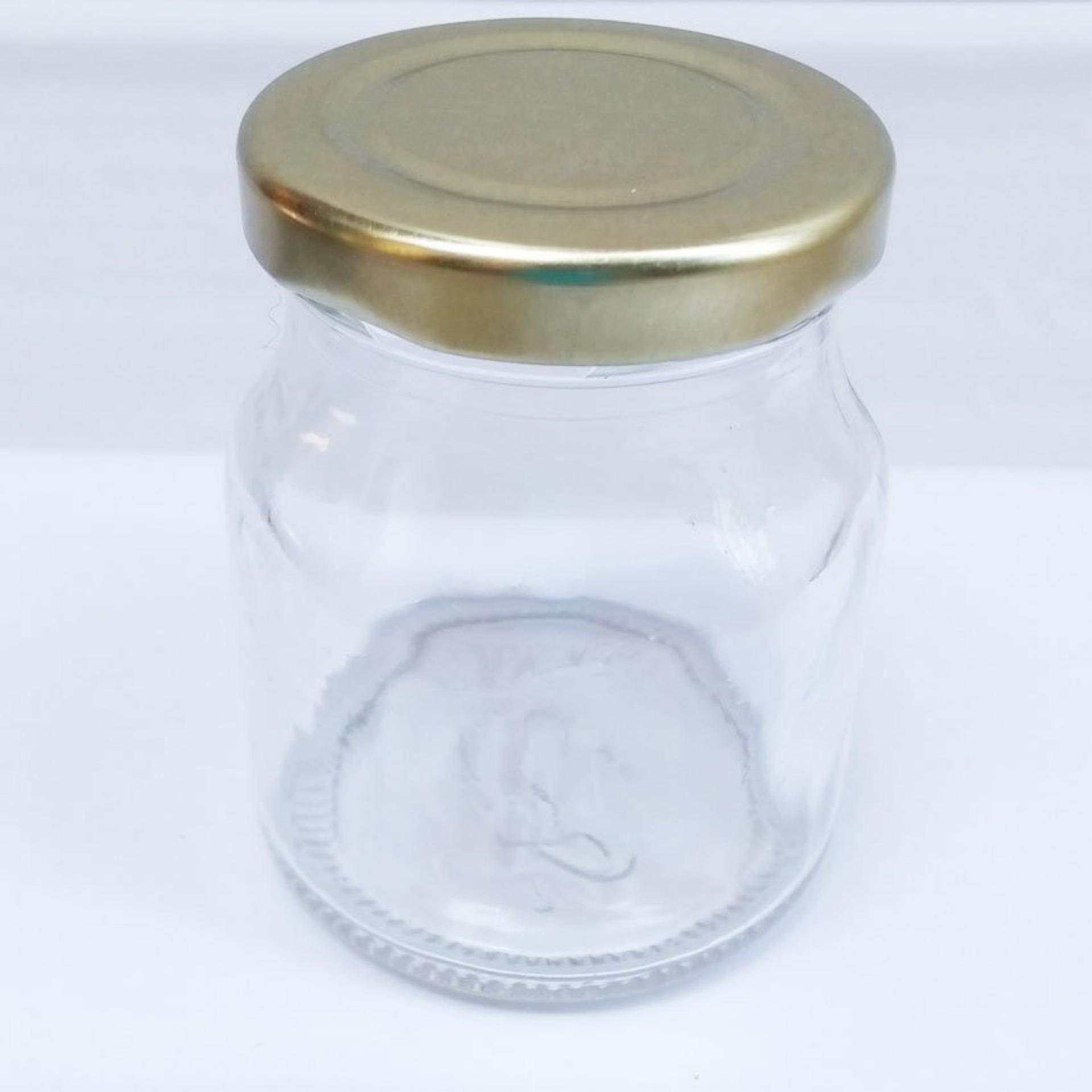 Bộ 24 hũ thủy tinh làm sữa chua nắp thiếc