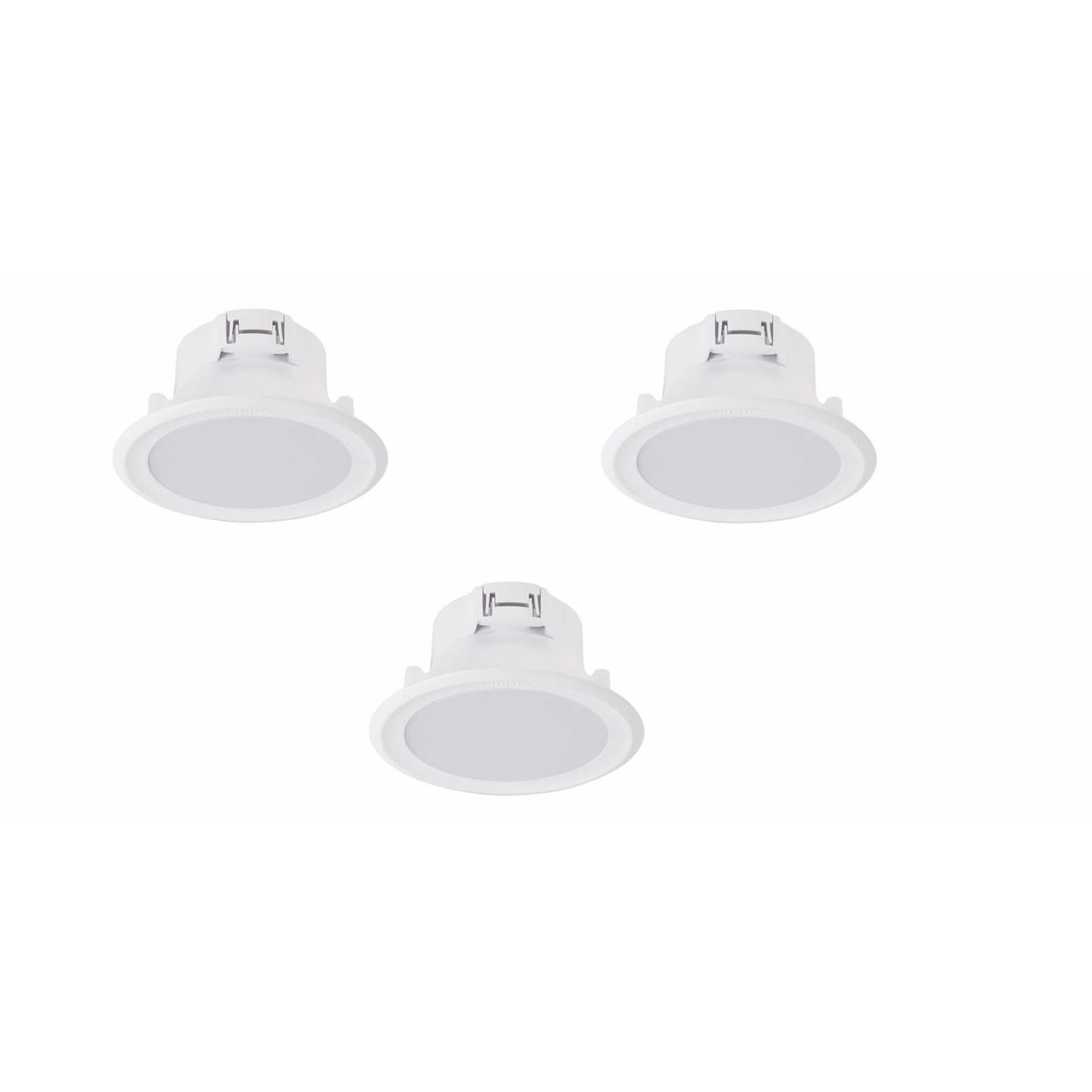 Nơi Bán Bộ 3 đèn Philips LED Downlight âm trần 44082 7W (Vàng)