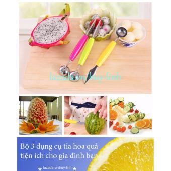 Bộ 3 dụng cụ tỉa hoa quả tiện ích cho gia đình bạn