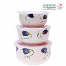 Nơi nào bán Bộ 3 Thố bằng sứ Cheng's Công Nghệ Nhật