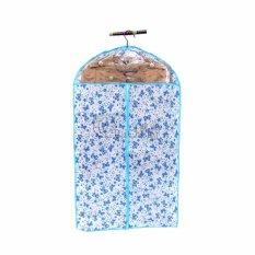 Bộ 3 túi bảo quản quần áo họa tiết hoa 58CMx118CM