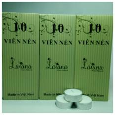 Bộ 30 viên nến tealigt chuyên dùng cho đèn xông tinh dầu dùng nến