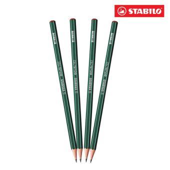 Bộ 4 cây bút chì gỗ STABILO Othello PC282-2B-C4