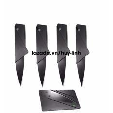Bộ 4 dao xếp hình ATM bỏ túi Knife ATM (Đen)