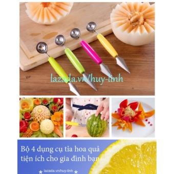 Bộ 4 dụng cụ tỉa hoa quả tiện ích cho gia đình bạn