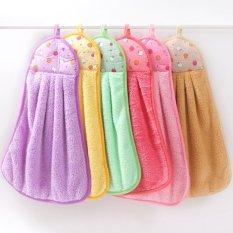 Bộ 4 khăn lau tay siêu thấm nhiều màu