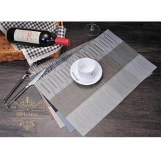 Bộ 4 khăn lót chén dĩa 3sk (kem)