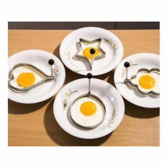 Bộ 4 khuôn chiên trứng, làm bánh tạo hình ngộ nghĩnh