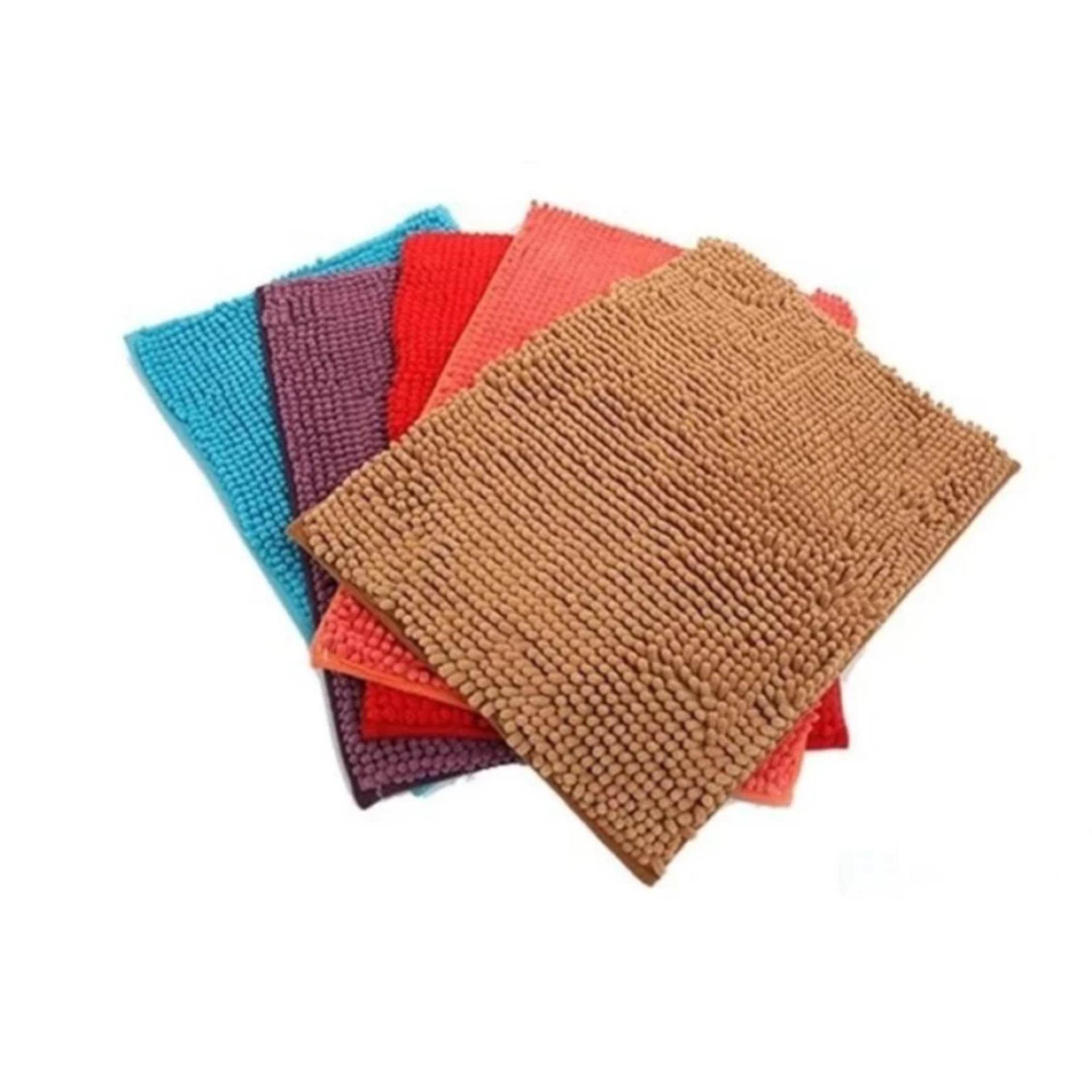 Đánh Giá Bộ 4 thảm lau chân san hô siêu thấm loại to (60x40cm)(Nhiều màu)