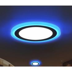 bộ 5 bóng đèn 3 chế độ màu âm trần tròn 3w+ 3w grentech
