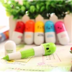 Bộ 5 bút bi hình viên thuốc đáng yêu cho bé