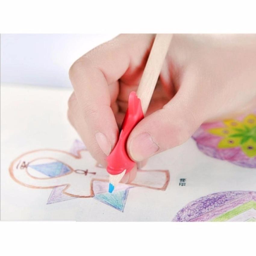 Bộ 5 dụng cụ cầm bút đúng, đệm tay cho bé tập viết
