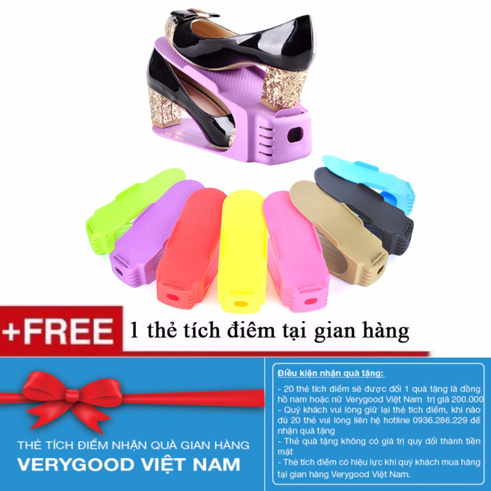 Bộ 5 kệ để giày dép thông minh + Tặng kèm 1 thẻ tích điểm Verygood