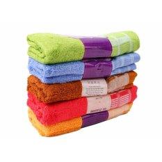 Bộ 5 khăn mặt sợi tre cao cấp