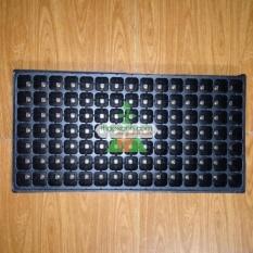 Bộ 5 khay ươm cây, khay ươm hạt, vỉ ươm (105 lỗ)(Đen)