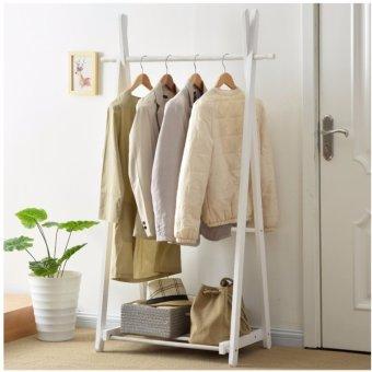 Bộ 5 móc treo quần áo bằng gỗ cao cấp