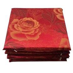 Bộ 5 nệm ngồi PE Ngọc Hân NNPE40B01 40x40x3cm (Đỏ)