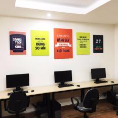 Bộ 5 tranh treo tường văn phòng kinh doanh VP051