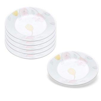 Bộ 6 đĩa thủy tinh Corelle 108-EC-LP 21.6cm