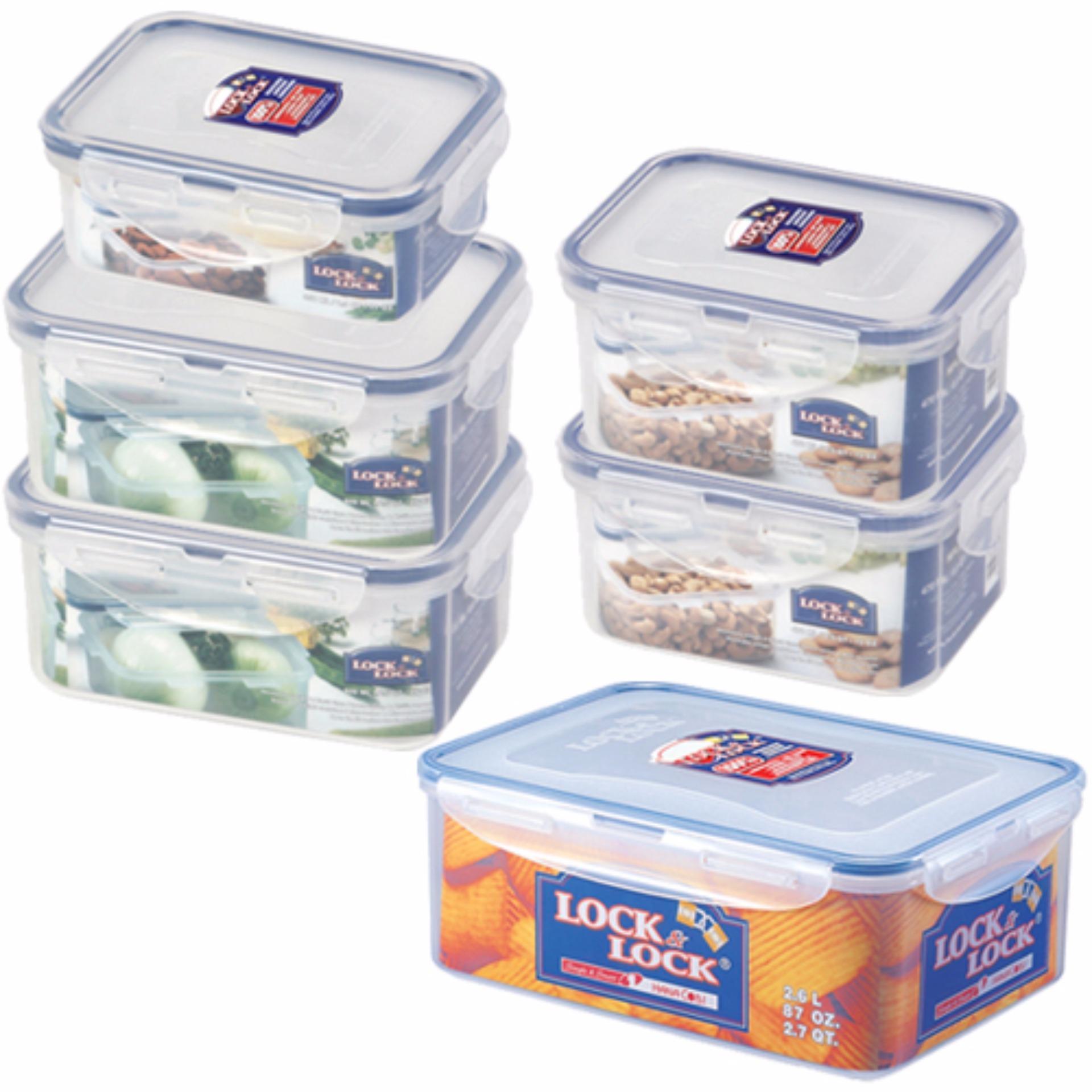 Bộ 6 hộp bảo quản L&L Classic (HPL806*1, HPL807*2, HPL811*2, HPL826*1)