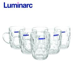 Bộ 6 ly bia thủy tinh Luminarc Britannia 290ml 15706 (Trong suốt)