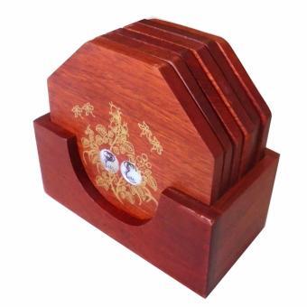Bộ 6 miếng đế lót ly lục giác gỗ hương đỏ quý hiếm khảm xà cừ LG01 - 8778000 , TH607HLAA55TSYVNAMZ-9499713 , 224_TH607HLAA55TSYVNAMZ-9499713 , 155000 , Bo-6-mieng-de-lot-ly-luc-giac-go-huong-do-quy-hiem-kham-xa-cu-LG01-224_TH607HLAA55TSYVNAMZ-9499713 , lazada.vn , Bộ 6 miếng đế lót ly lục giác gỗ hương đỏ quý hiếm khả