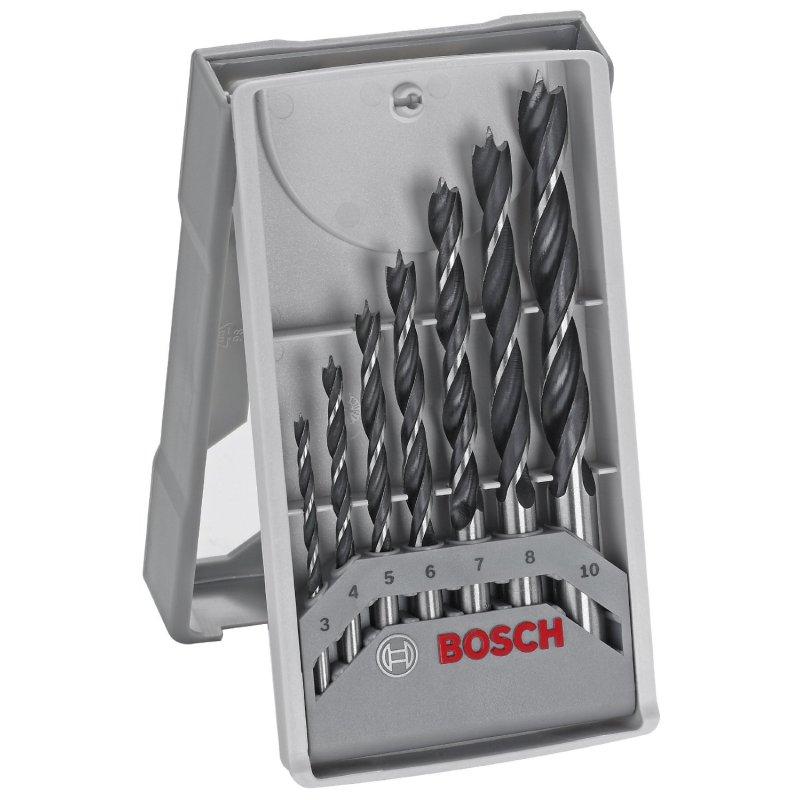 Bộ 7 cây mũi khoan gỗ Bosch 2607017034 3-10mm (Xám)