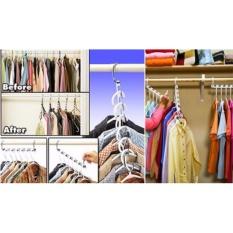 Bộ 8 cây treo quần áo đa năng tiện dụng cao cấp – Huy Tưởng ( Có clip )