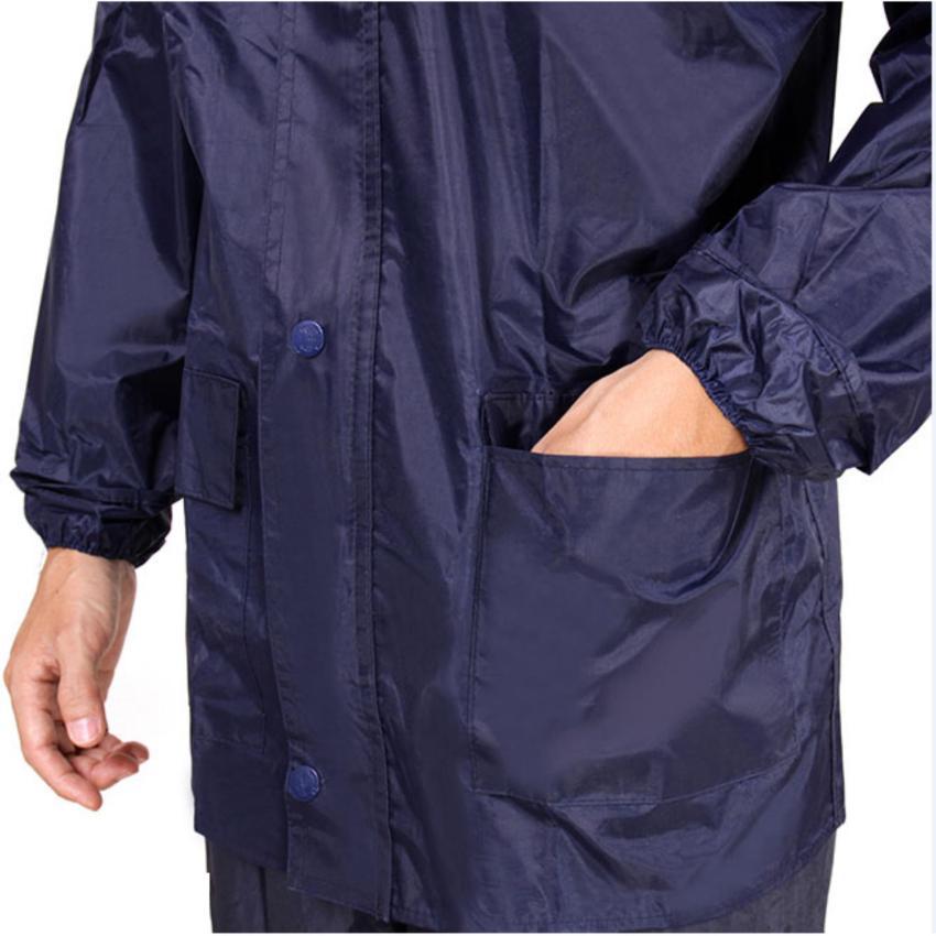 Bộ Áo Mưa Vải Dù Cao Cấp – Không Thấm Size 2X - 70kg