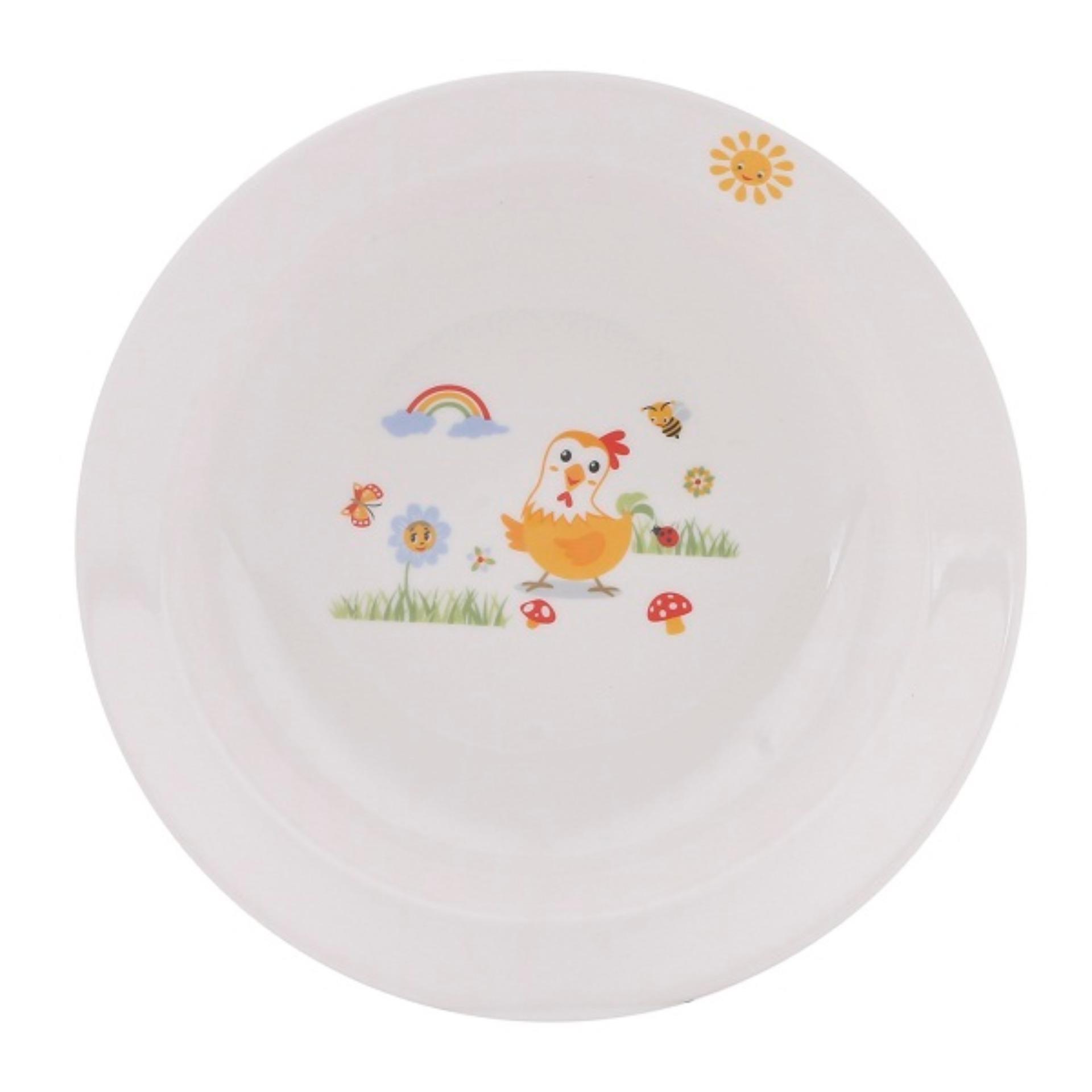 Bộ bàn ăn sứ Dong Hwa cho trẻ KIDSET01