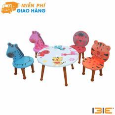 Bộ bàn ghế trẻ em hình thú rừng