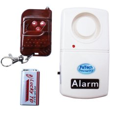 Bộ báo trộm - báo khách cảm biến rung có remote điều khiển từ xa