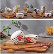 Bộ bát đũa ăn cơm kiểu Nhật mới(Màu ngẫu nhiên)