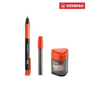 Bộ bút chì bấm STABILO Exam Grade kèm ruột, chuốt MP9883-CA