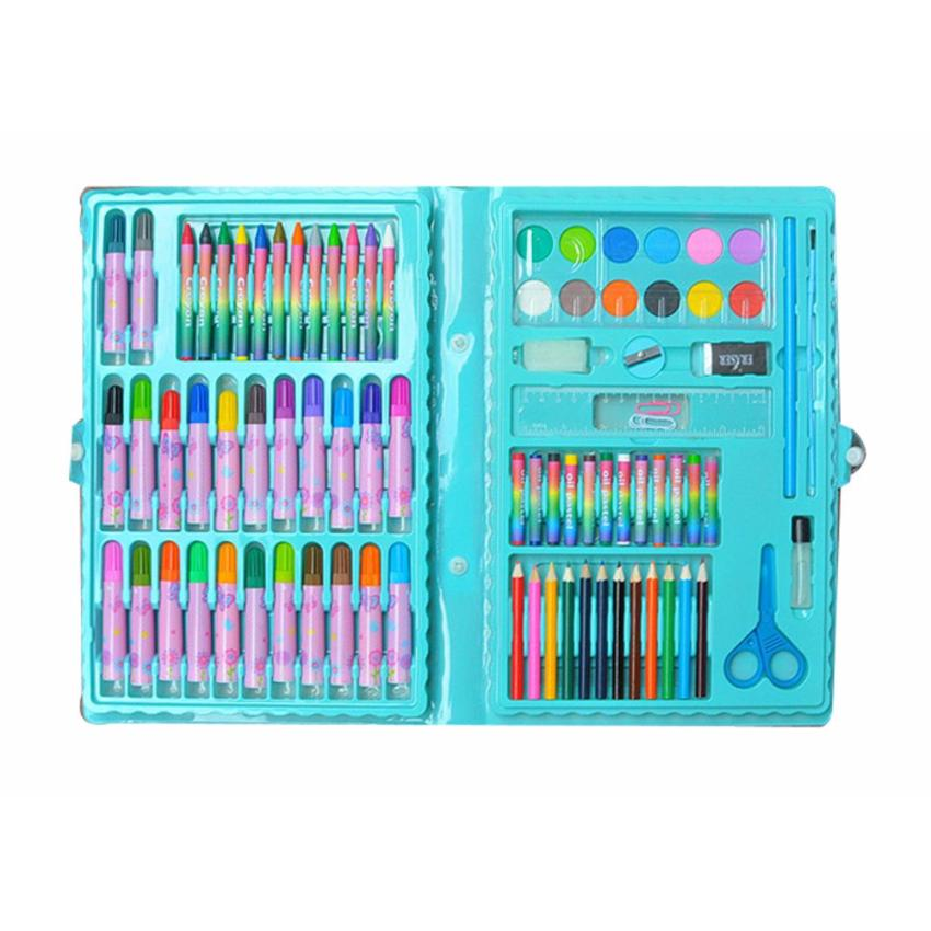 Bộ bút màu cao cấp cho bé 86 món(màu ngẫu nhiên)