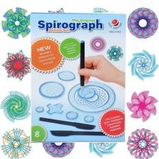 Bộ bút thước vẽ họa tiết Spirograph kích thích tư duy sáng tạo cho bé
