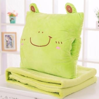 Bộ chăn gối văn phòng 3 trong 1 chú ếch