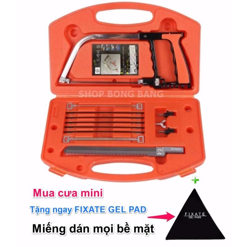 Bộ cưa tay mini 7 lưỡi cưa nhiều vật liệu KKS1211 + tặng kèm miếng dán Fixate Gel Pad