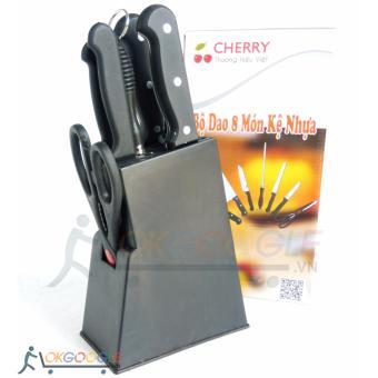 Bộ dao kéo 8 món cùi bắp củ chuối có khay cắm Cherry RD-168 - 8517037 , OE680HLAA5JF0EVNAMZ-10168759 , 224_OE680HLAA5JF0EVNAMZ-10168759 , 193500 , Bo-dao-keo-8-mon-cui-bap-cu-chuoi-co-khay-cam-Cherry-RD-168-224_OE680HLAA5JF0EVNAMZ-10168759 , lazada.vn , Bộ dao kéo 8 món cùi bắp củ chuối có khay cắm Cherry RD-16