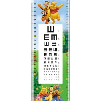 """""""Bộ decal dán tường đo chiều cao và đo mắt cho bé- Thế giới Disney"""""""