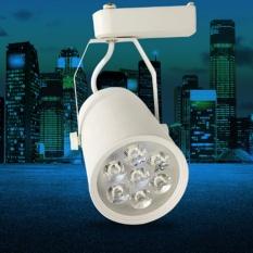 Bộ đèn led chiếu điểm 7W và Thanh ray treo trần